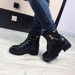 ботинки зима молния