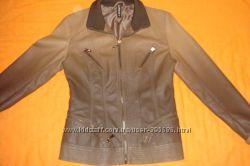 Продам куртку-пиджак кожзам  300