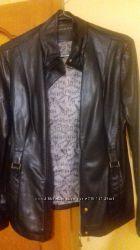 Куртка кожзам состояние новой 48-50