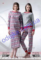 Зимняя пижама женская утепленная LNP 047. 001 Ellen.