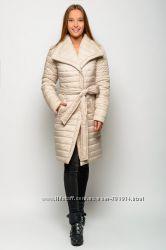 Женская зимняя куртка K&ML Бант 44-52 размеры. Очень тёплая, практичная