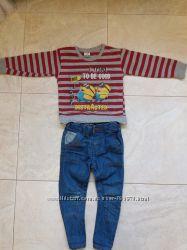 Наши фирменные штанишки для стильного малыша