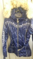 Лыжный костюм с песцовой опушкой на рост 152-156. В отличном состоянии