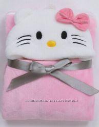 Детское флисовое одеяло с Китти