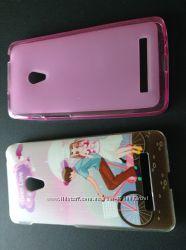 Чехол цена за  2 штуки на мобильный телефон Asus Zenfone 5