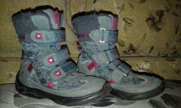 Зимние  термо-сапоги   Geox Gore Tex