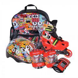 ролики Tempish Monster Baby skate.  Подарок и бесплатная доставка.