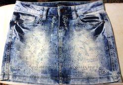 Джинсовая  юбка ICE