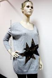 Стильные удлиненные свитера Франция
