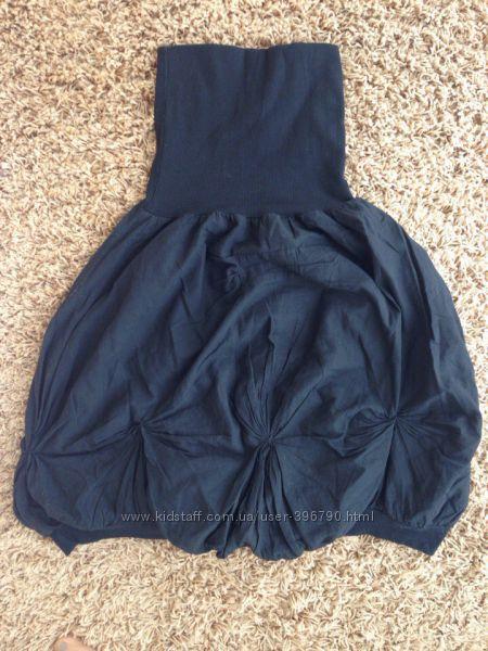 Стильная юбка для беременных. Размер М-Л.