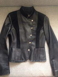 Куртка кожаная. Размер М 36-38.