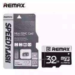 Карта памяти Micro SDHC Микро СД 32 GB Remax Оригинал
