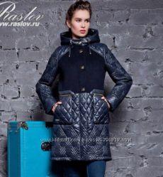 Пальто тёмно-синее M