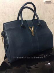 Кожаная сумка YSL