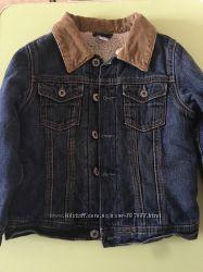 Джинсовая куртка с искусственным мехом GAP