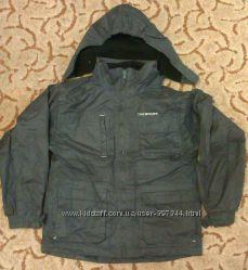 Тёплая водо-ветро-непроницаемая куртка Trespass на мальчика 9-10 лет
