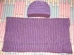 Снуд и шапка зимние