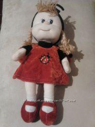 Мягкая игрушка Кукла Божья коровка, 21см  Lava