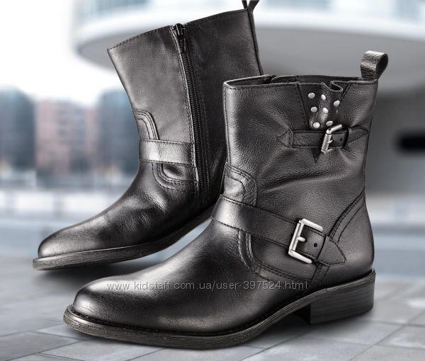 Демисезонные ботинки TCM TCHIBO 40разм. Германия кожа