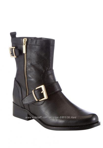 Новые кожаные ботинки F&F TESKO р. 41  UK7 на весну-осень