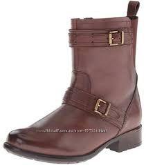 CLARKS Демисезонные ботинки кожа р. US8, 5М наш39-39. 5 стелька25, 8см