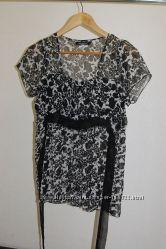 Легкая шифоновая блузка для беременных
