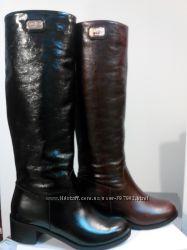 Сапоги, ботинки кожа замш. Зима