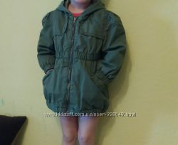 Демисезонная куртка- плащ, размер 2Т