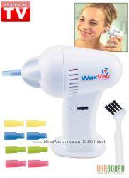Прибор для чистки ушей WaxVac - доктор Вак