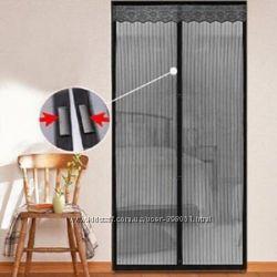 Москитная сетка на дверь Moscuito Net - защита от комаров