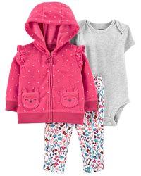 Новинки. Тёплые костюмы CARTERS для девочек. Разные цены