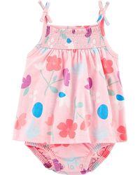 Очаровательные песочники и платья-боди CARTERS для девочек