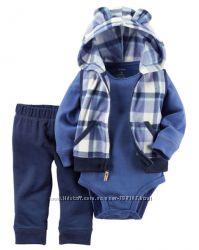Костюмы с жилетками от Carters для мальчиков от 385грн