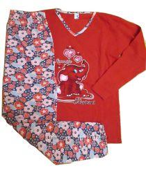 Распродажа - пижамы теплые, цвета в ассортименте