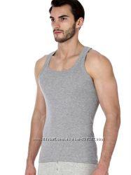 Майки, футболки хлопковые серые, белые. размеры 48-50, 50-52