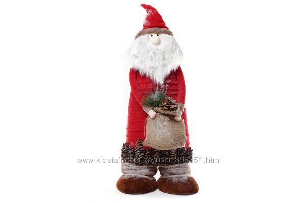 Новогодние фигуры Дед Мороз, Санта Клаус и Снегурочка