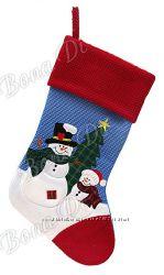 Рождественкий носок, сапожок для подарков
