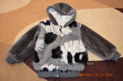 Курточка-меховушка 2-4г