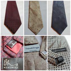 мужские галстуки шелковые и полиэстр