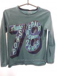 F&F футболка с длинным рукавом 8-9 лет