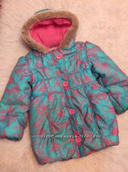 mark& spencer зимняя куртка на девочку 5-6 лет
