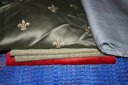 Лоскут для рукоделия, ткани