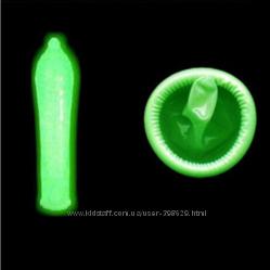 Набор презервативов. Светящиеся  ультратонкие