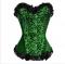 Корсет зеленый