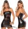 Сексуальное платье со вставками