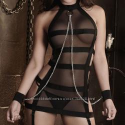 Сексуальный комплектик с цепочкой