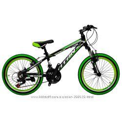 Алюминиевый детский горный велосипед 20 TITAN SPACE