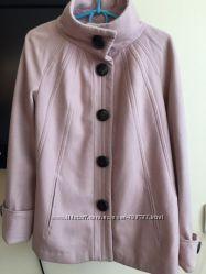 Пальто ZARA, оригинал, зара, пиджак, осень, весна, розовое пальто, шерсть