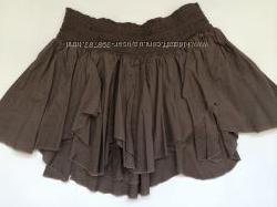 Красивая летняя юбка  мини