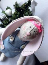 Интерьерная кукла. Заяц в стиле Тильда